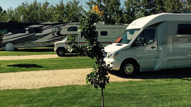 Picture of Prairie Junction RV Resort in Stettler, Alberta.