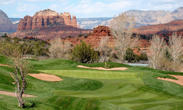 Sedona Golf Resort. Hole #10, Par 3. Photo