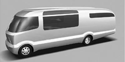 Artist's rendering of Airstream's G-Series motorhome.