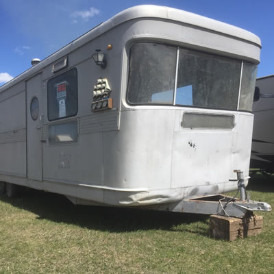 This circa 1950s Spartan Mansion trailer comes from a distinguished pedigree.