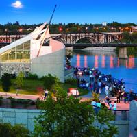 Saskatoon, Saskatchewan riverscape