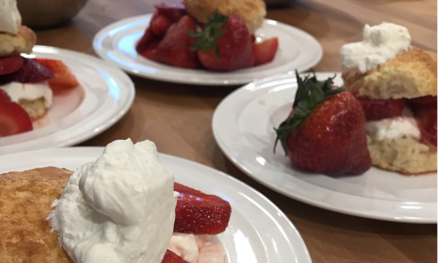 Shortcake, strawberries and cream are a delicious way to celebrate the arrival of summer.