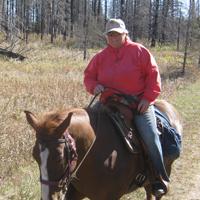 Sue Upton horseback riding