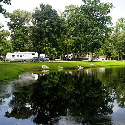 Summer Breeze RV Resort near Houston, Texas.