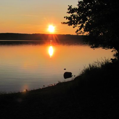 Lake Marie Louise, Sleeping Giant Campground near Thunder Bay, Ontario