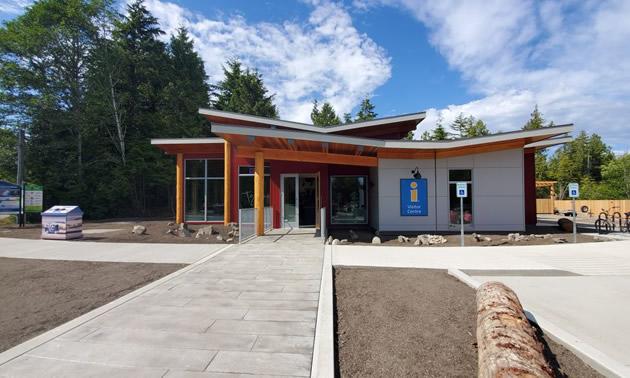 The new Tofino Visitor Centre.