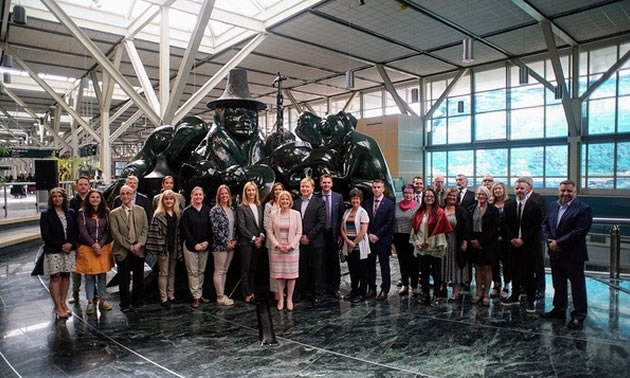 A group shot of the Minister's Tourism Engagement Council.