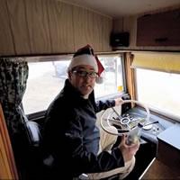 Voyager RV tours a 1968 Triple E motorhome