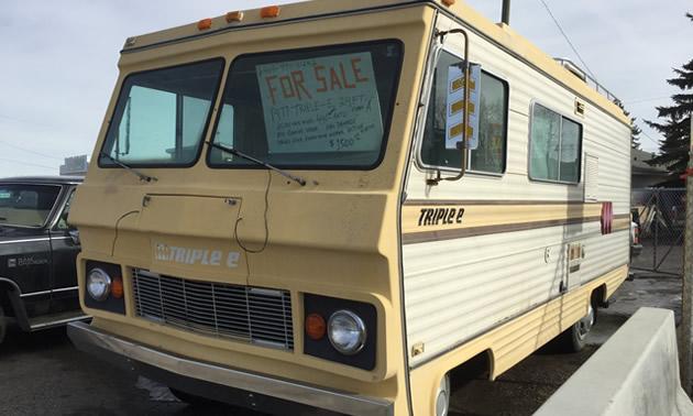 A 1977 Triple E motorhome.