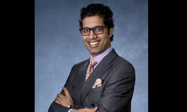 Vivek Sharma, new CEO of Fairmont Hot Springs Resort.