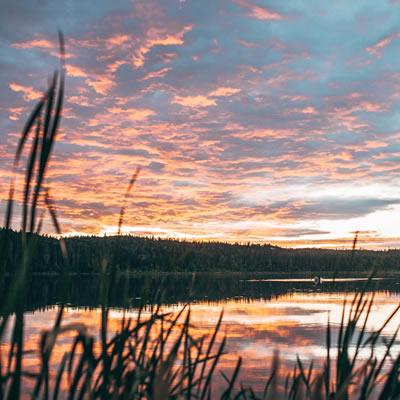 Kidney Lake, Alberta