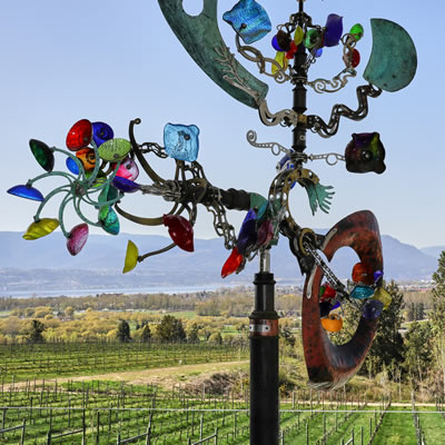 Tantalus offers splendid views of the Okanagan.