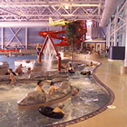 Patrons float in the lazy river at Yorkton's pool complex.