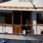 Yacht on the ocean
