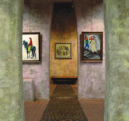 DeGrazia Gallery interior hallway
