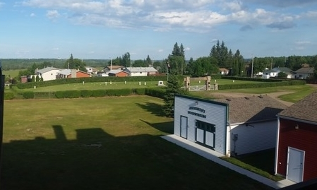 Battleford has classically picturesque views. -