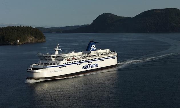 BC Ferries' Spirit of BC shuttles travellers from Tsawwassen to Swartz Bay.