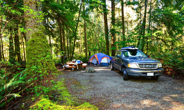 Visitors will soon have more camping opportunities throughout BC with over 350 new campsites for the upcoming camping season.