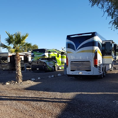 The Black Rock RV Village in Arizona.