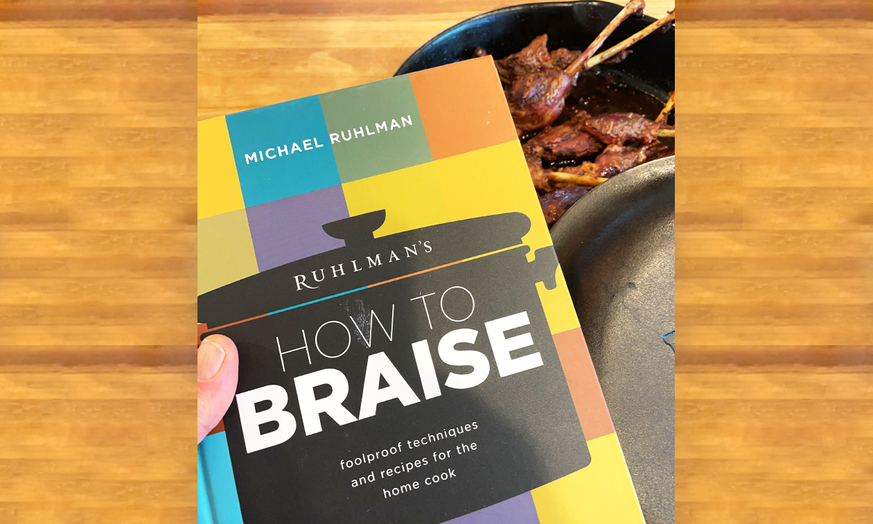 cover of the braising cookbook