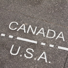 Canada/US borderline.