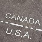 Canada/US borderline.