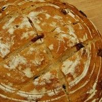 Rye Cranberry Bread