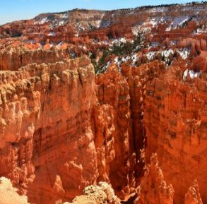 Take in the stunning view at Bryce National Park.