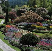 The Sunken Garden was the original garden site in 1904.