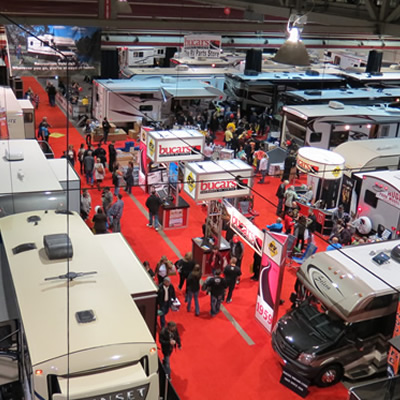 The Calgary RV Show runs from January 26-29th, 2017 at the BMO Centre at Stampede Park.
