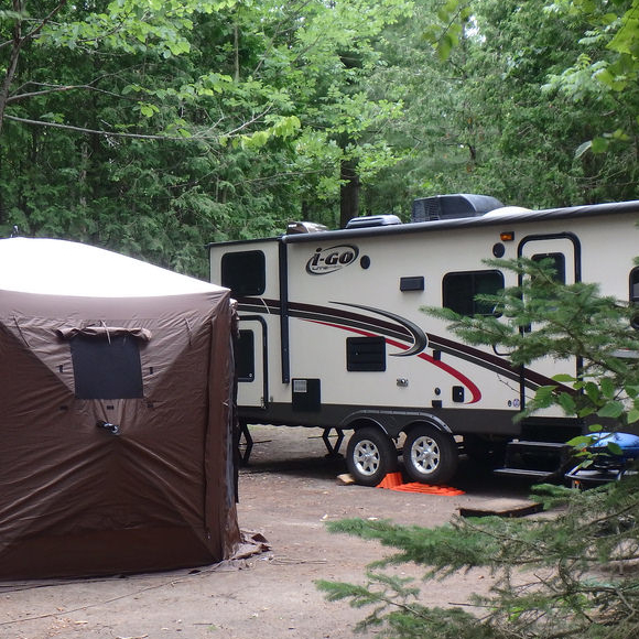 Camping is one of the most popular activities in Canada.
