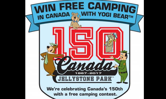 Jellystone Parks in Canada are offering a special advance reservation promotion in celebration of Canada's 150th anniversary.