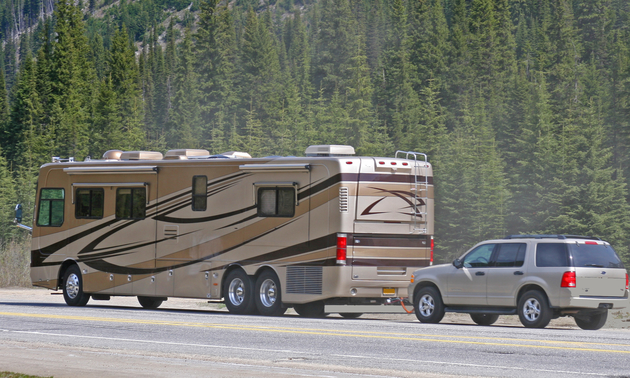 Live in the lap of luxury, with one of these high-end RV units.