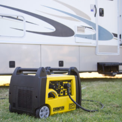 generator beside an RV