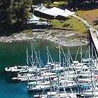 Telegraph Harbour Marina in Chemainus
