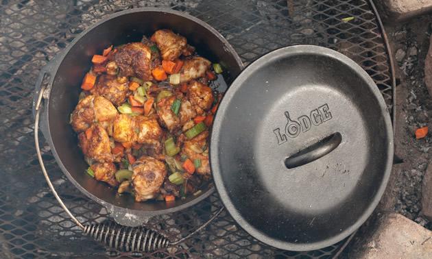 One Pot Chicken Paprika