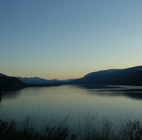 Photo taken east of Christina Lake at the view point.