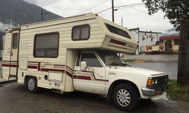 Vintage Rv Mini Truck Citation Supreme Camper Rvwest