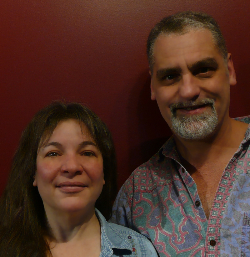 Authors Lillian and Dave Brummet