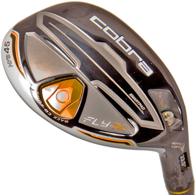 This Cobra Hybrid, 4 to 5 will replace the 5 and 6 irons.