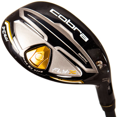 This Cobra Hybrid, 3 to 4, will replace the 3 and 4 irons.