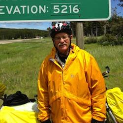 Bob Williams, cyclist.
