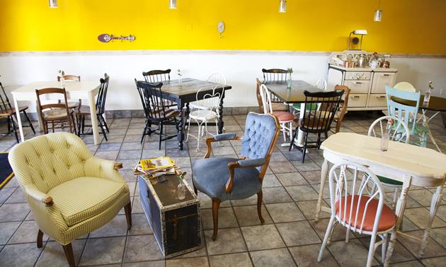 Coppa cafe in Flagstaff, Arizona