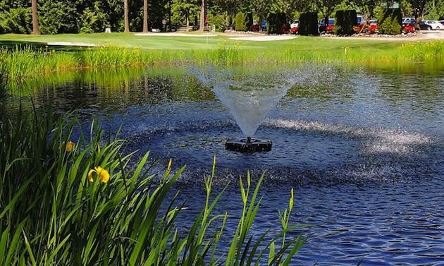 Hole 12 at Cultus Lake Golf Course.