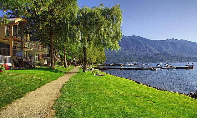 Cultus Lake in Chilliwack, BC