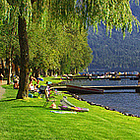 Cultus Lake in Chilliwack, BC