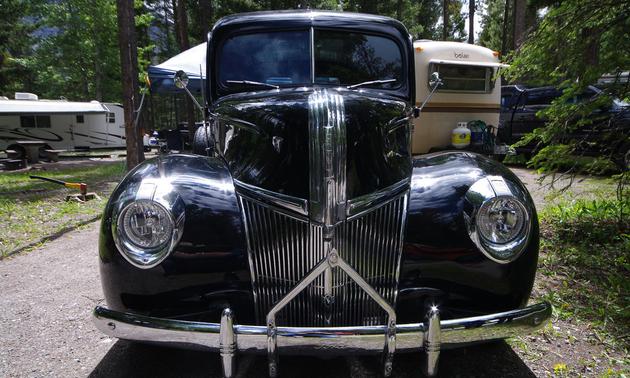 Darryl's 1941 Ford Panel half-ton.