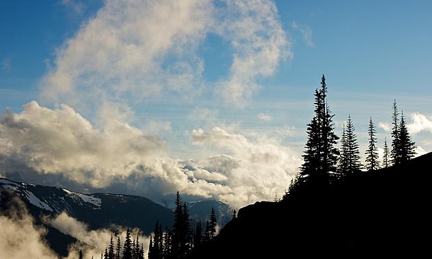 mountains in Deer Park Washington