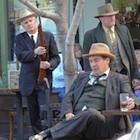 Dillinger re-enactment