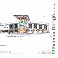 rendition of the El Dorado RV sales building